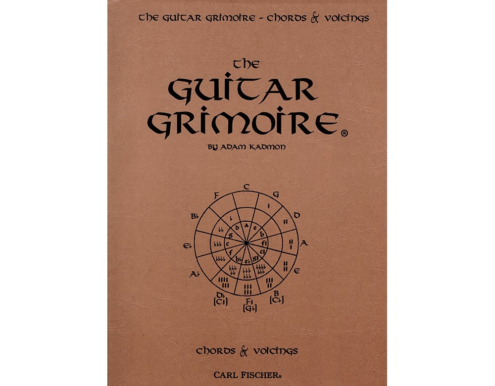 Amazon Carl Fischer The Guitar Grimoire Chords And Voicings