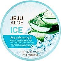 The Face Shop Jeju Aloe Vera Ice Refreshing Soothing Moisturizing Gel