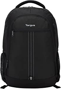 Targus Sport Commuter Backpack with Padded Laptop Compartment for 15.6-Inch Laptop, Black (TSB89104US)