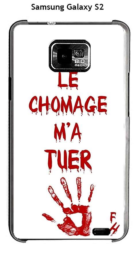 Onozo Carcasa Samsung Galaxy S2 diseño con citaLe Chomage M ...