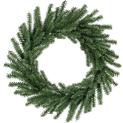 "Northlight 16"" Mini Pine Artificial Christmas Wreath - Unlit"