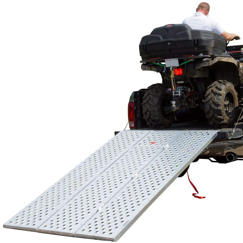 Black Widow TFP-9354 Punch Plate Tri-Fold ATV Ramp