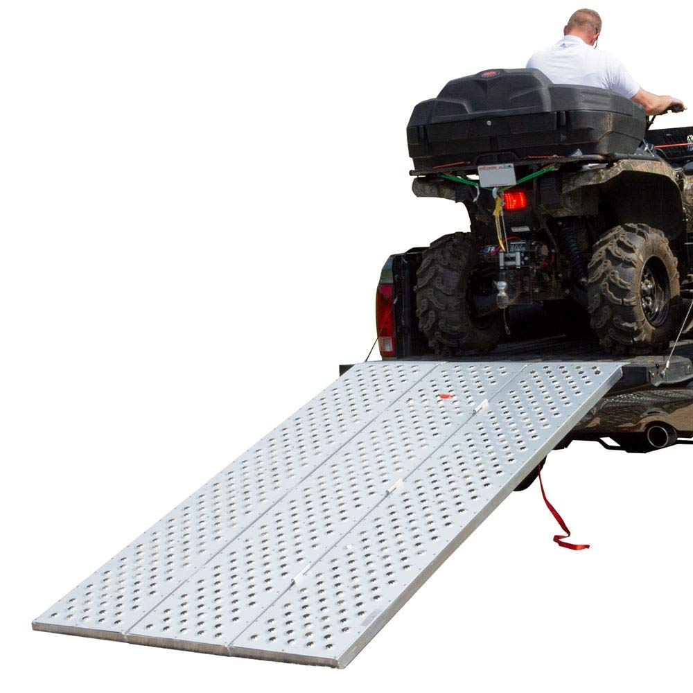 Black Widow TFP-9354 Punch Plate Tri-Fold Atv Ramp