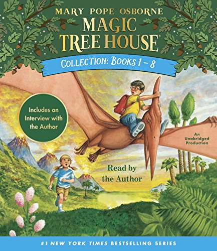 Magic Tree House Collection: Books 1-8: Dinosaurs Before Dark, The Knight at Dawn, Mummies in the Morning, Pirates Past Noon, Night of the Ninjas, ... the Amazon, and more! (Magic Tree House (Dark Knight Collection)