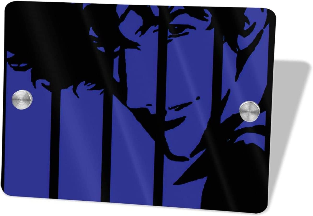 Cowboy Bebop Welcome Sign Front Porch Decor Wall Plaque House Sweet Home Sign Porch Decorations Home Decor Hanging 5.5x7.5 in