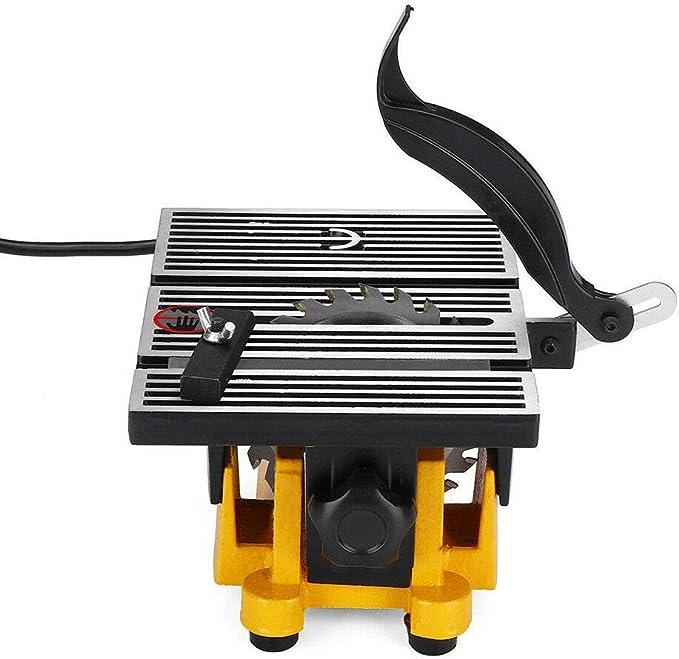 Mini sierra de mesa, herramienta de corte, sierra circular de mesa ...