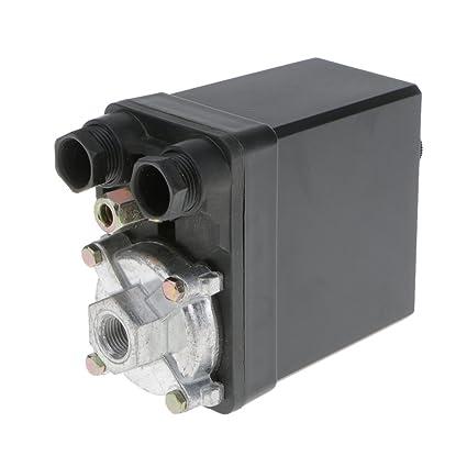Almencla SG-4A Interruptor De Presión Trifásico De Compresor De Aire De Ranura única 25A