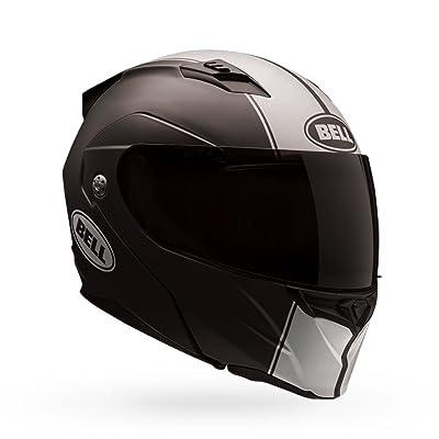 Bell Revolver Evo Rally Matte Black White Motorcycle Helmet Size Xlarge