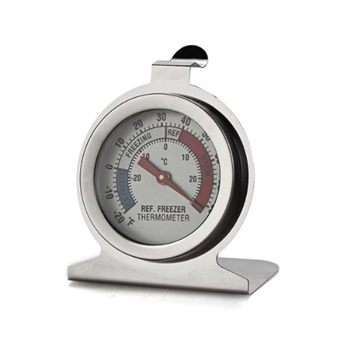White New Portable Kitchen Thermometer Stainless Steel Dial for Refrigerator MR.JIANG RayMALL0718