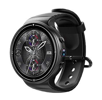 Reloj inteligente Bluetooth, sistema de operación Android 7.0, monitor de ritmo cardíaco Rastreador de