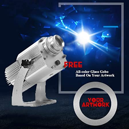 DYJD 20W Logo GOBO Projector LED GOBO Light Free Proyector ...