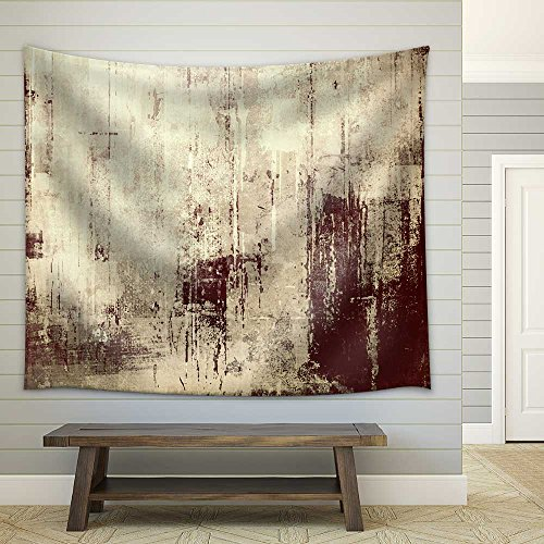 Grunge Background with Space Fabric Wall Tapestry