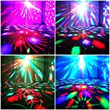 Party Lights + Disco Ball GOOLIGHT Dj Disco Lights