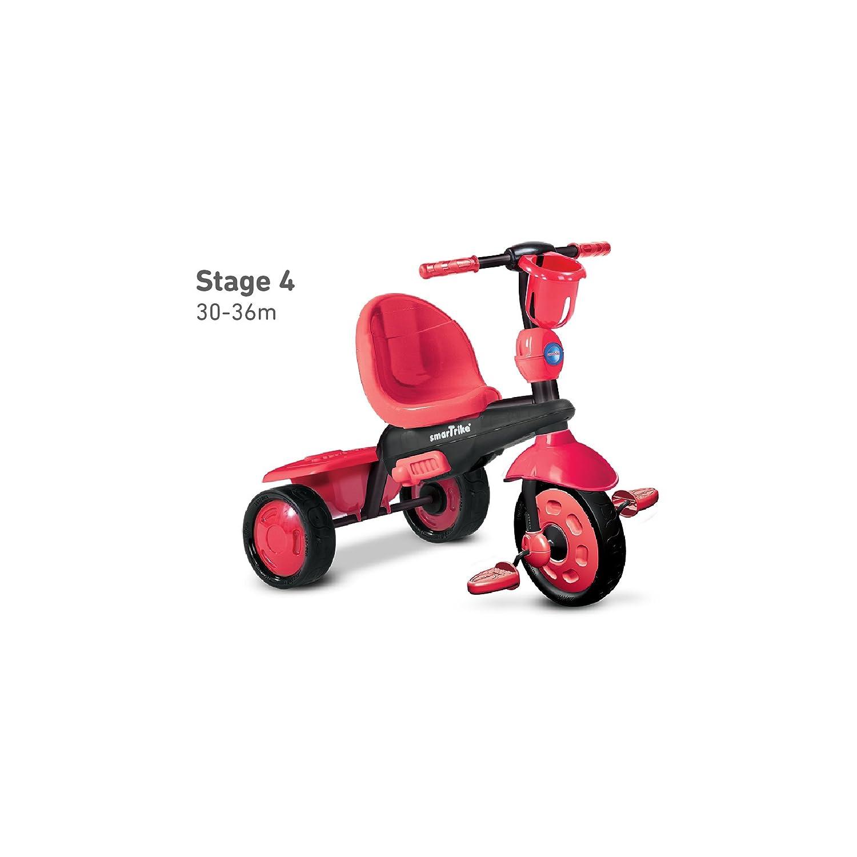 Smart Trike 675-1500 Triciclo per Bambini Colore Rosso