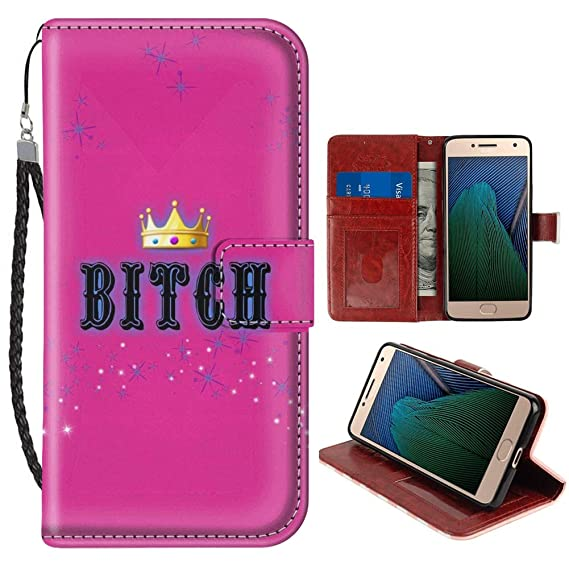 Bitch Leather Wallet