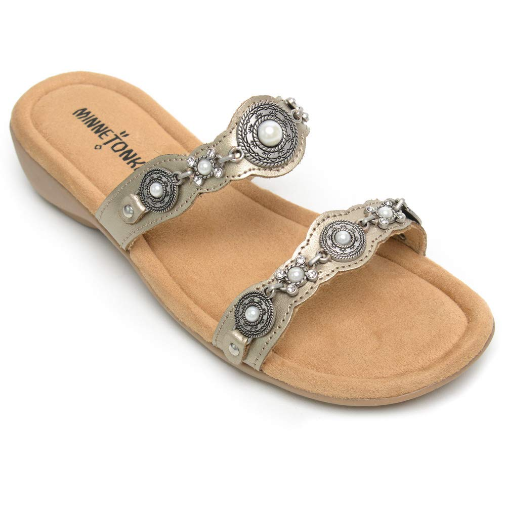 Minnetonka Womens Boca Slide III