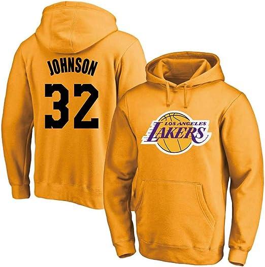 Sudadera Jersey NBA Lakers 32# Sudadera con Capucha De La Camiseta ...