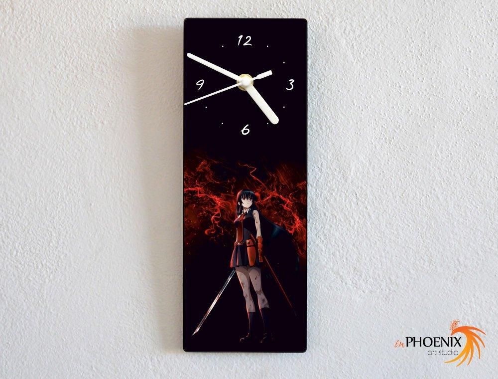 Revolution Night Raid Akame Ga Kill Custom Name Wall Clock Akame
