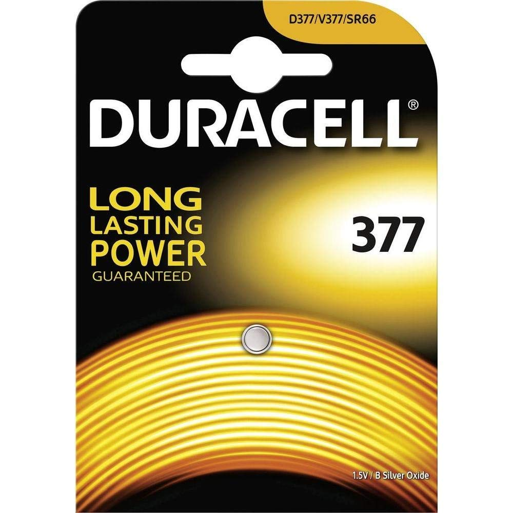 Duracell D377bpk08 1.5ボルト377酸化銀電池   B0071PEHDI