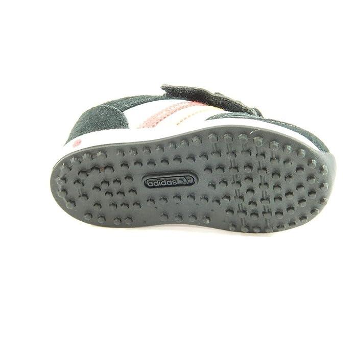 promo code db705 3fa2b Adidas - Adidas la trainer scarpe sneakers bambino nere strappo Q20586 -  Nero, 20 Amazon.it Scarpe e borse