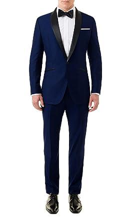 Lp Facon Skyfall James Bond Midnight Blue Tuxedo Suit At Amazon