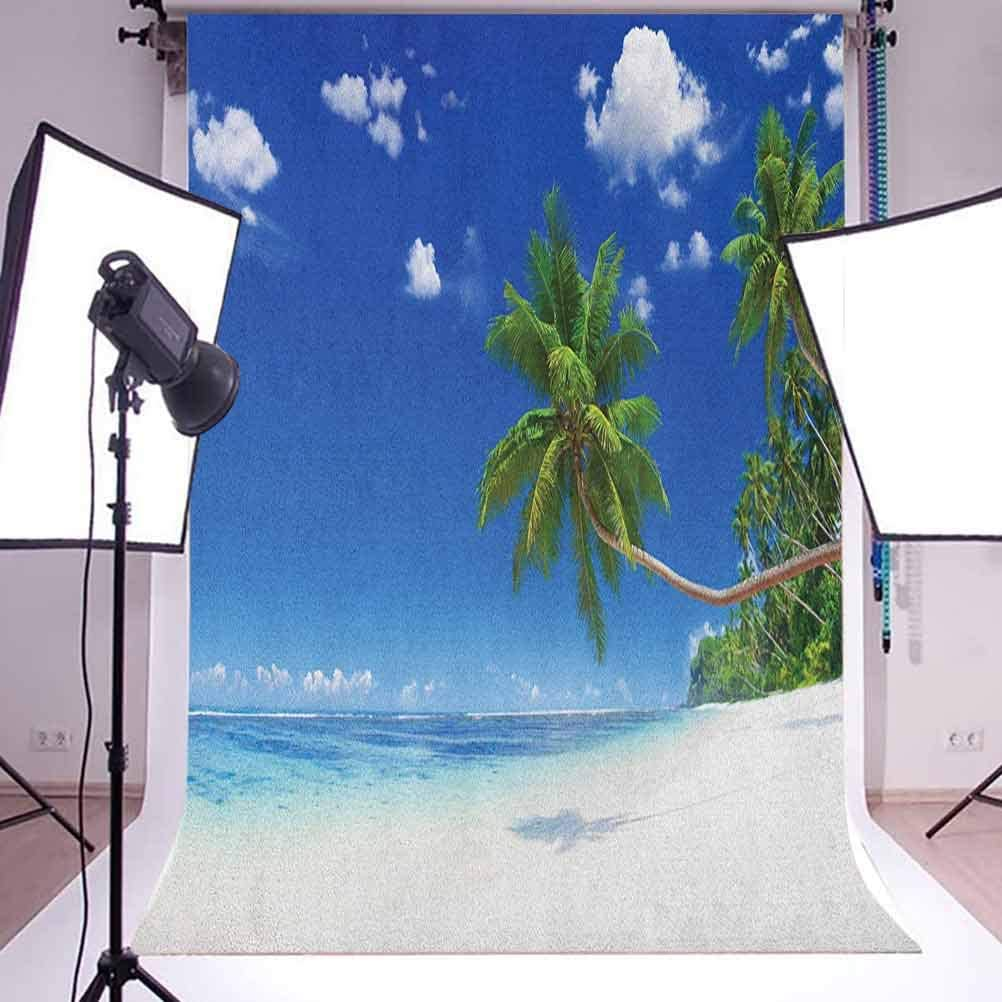 7x10 FT Vinyl Photography Backdrop,Pop Culture Elements Good Vibes Ice Cream Rocket Donut Star Cartoon Style Drawing Background for Baby Birthday Party Wedding Graduation Home Decoration