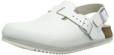 46d9ac272c16 Birkenstock Tokio Super Grip Natural Leather White size EU 43   US M10  Narrow