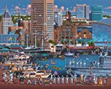 Jigsaw Puzzle - Baltimore 1000 Pc By Dowdle Folk Art