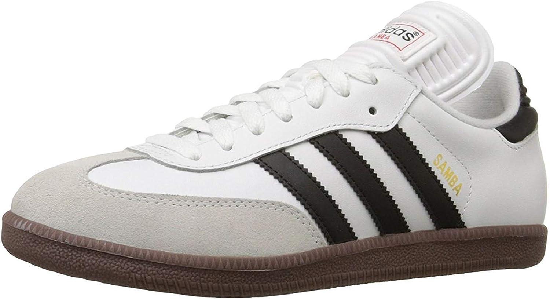 Destrucción uvas acerca de  Amazon.com | adidas Men's Samba¿ Classic Running White/Black 9 D US D (M) |  Fashion Sneakers