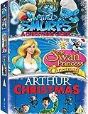 Arthur Christmas / Smurfs Christmas Carol, the / Swan Princess Christmas, the - Set