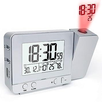 Amazon.com: MAMASAM - Reloj despertador digital con función ...