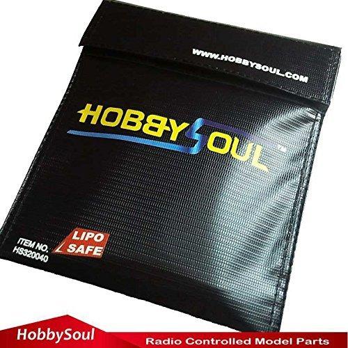 Fire Proof Pouch Cash Document Safe Sac Fire Matériau résistant à l'eau 18x 23cm hobbysoul
