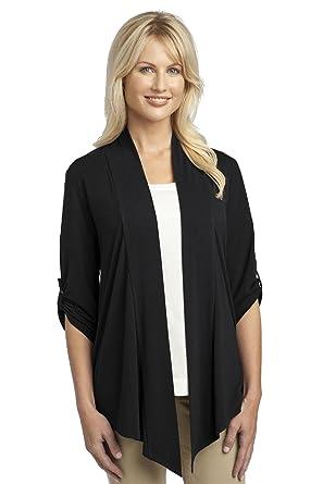 36867de3ad71 Port Authority Ladies Concept Shrug L543 at Amazon Women's Clothing store: