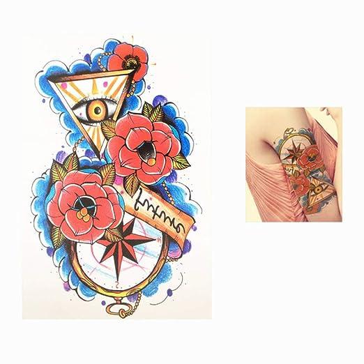 adgkitb Etiqueta engomada Temporal del Tatuaje del diseño del ...