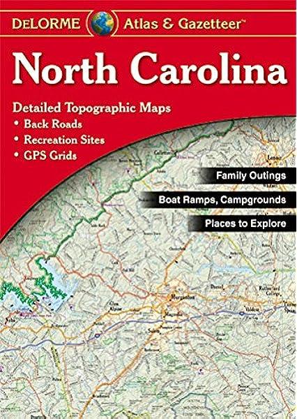 Delorme North Carolina Atlas Gazetteer Delorme Atlas Gazetteer Delorme 9780899334455 Amazon Com Books