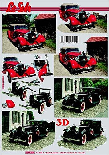 Le Suh 3D Cut Out Decoupage Sheet 4169500