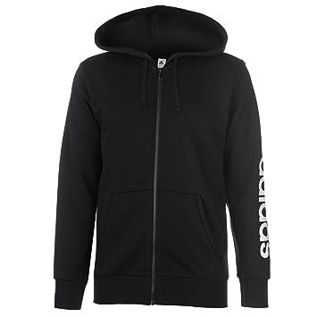 chaqueta con capucha essentials adidas