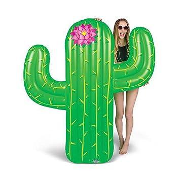 BigMouth Inc - Flotador Hinchable Cactus Gigante - Inflable Colchoneta Piscina Playa: Amazon.es: Juguetes y juegos
