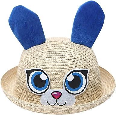 Summer Baby Kid Cartoon Children Breathable Straw Hat Kids Hat Boy Girls Hat Cap