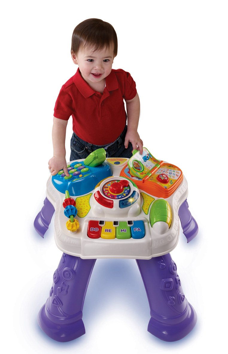 Amazon.com: VTech Baby Play U0026 Learn Activity Table: Computers U0026 Accessories