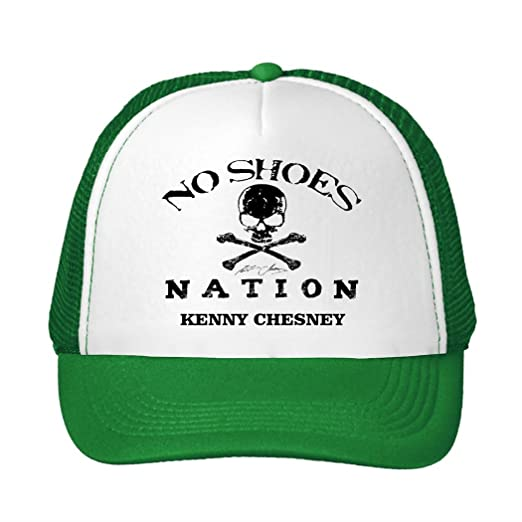 Amazon.com  Kenny Chesney Spread The Love No Shoes Printing Mesh Sun ... db8fab631ef