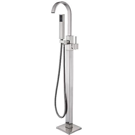 Amazon.com: Senlesen - Grifo de latón para bañera con ducha ...