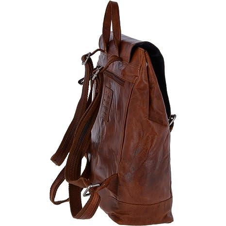 5967bfd3462 Ashwood Unisex Leather Vintage Backpack Tan   F-86 One Size  Amazon.co.uk   Luggage