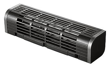 エレコム USB扇風機 縦置き/横置き/PC&タブレット冷却台 3段階風量調整 ブラック FAN-U177BK