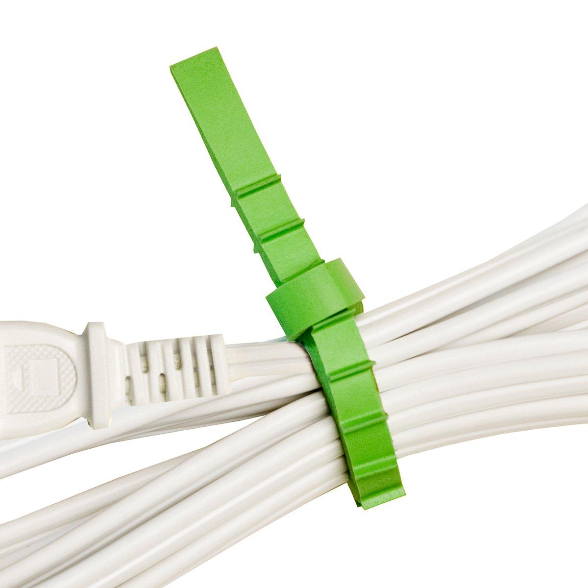 Q Knot Reusable Cable Tie 25 Piece Pack