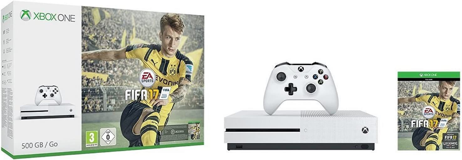 Xbox One S - Consola 500 GB + Fifa 17: Amazon.es: Videojuegos