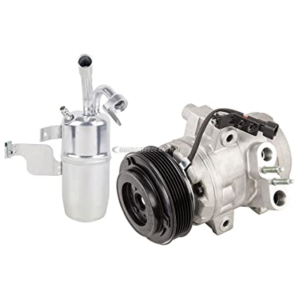 Amazon.com: AC Compressor w/A/C Drier For Ford Transit Connect 2010-2015 - BuyAutoParts 60-88741R2 New: Automotive