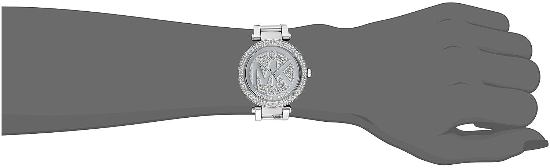 e8bd83a3ac60 Amazon.com  Michael Kors Women s Parker Silver-Tone Watch MK5925  Michael  Kors  Watches