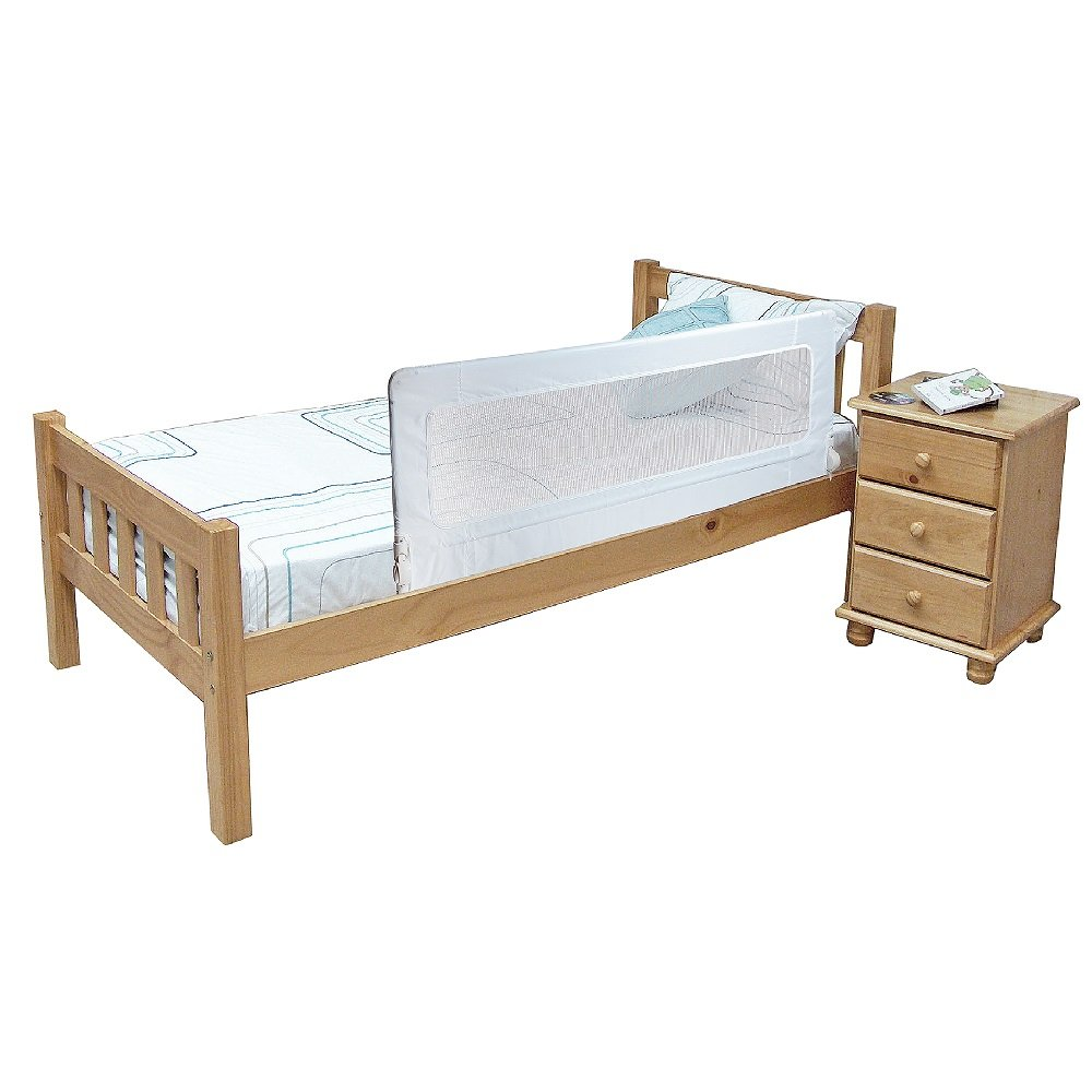 Safetots Extra Tall Bed Rail White Amazoncouk Baby