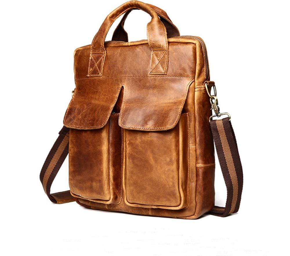 Leder Vintage Messenger Bag Für Männer Und Frauen Geschäfts Arbeit Bücher Handgemachte Robust Und Distressed Büroalltag College School